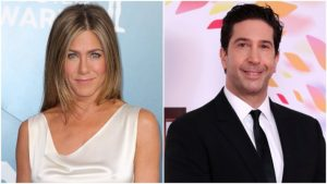 """Jennifer Aniston and David Schwimmer The """"Friends"""" Costars Rachel And Ross Are Dating In Real Life"""